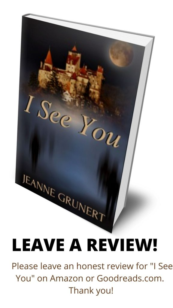 cover of I See You with a request to leave a review
